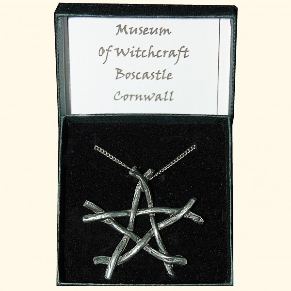 Pewter Twig Pentacle Large-238