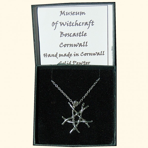 Pewter Twig Pentacle small-239