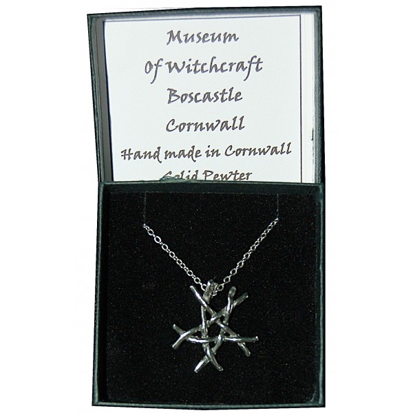 Pewter Twig Pentacle small-54