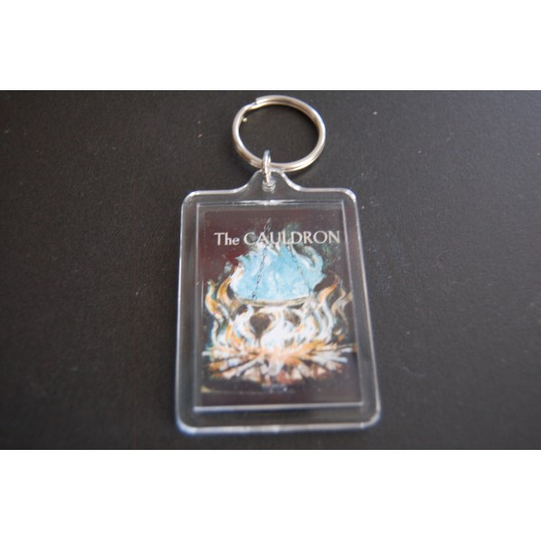 Cauldron Sign Keyring-397