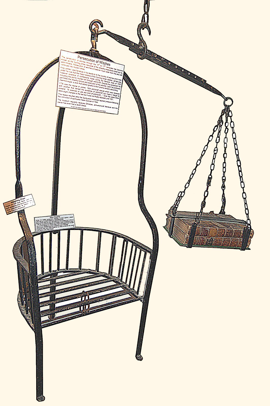 Chair and Bibles