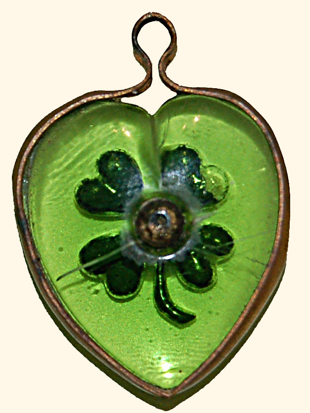 Four Leaved Clover Charm