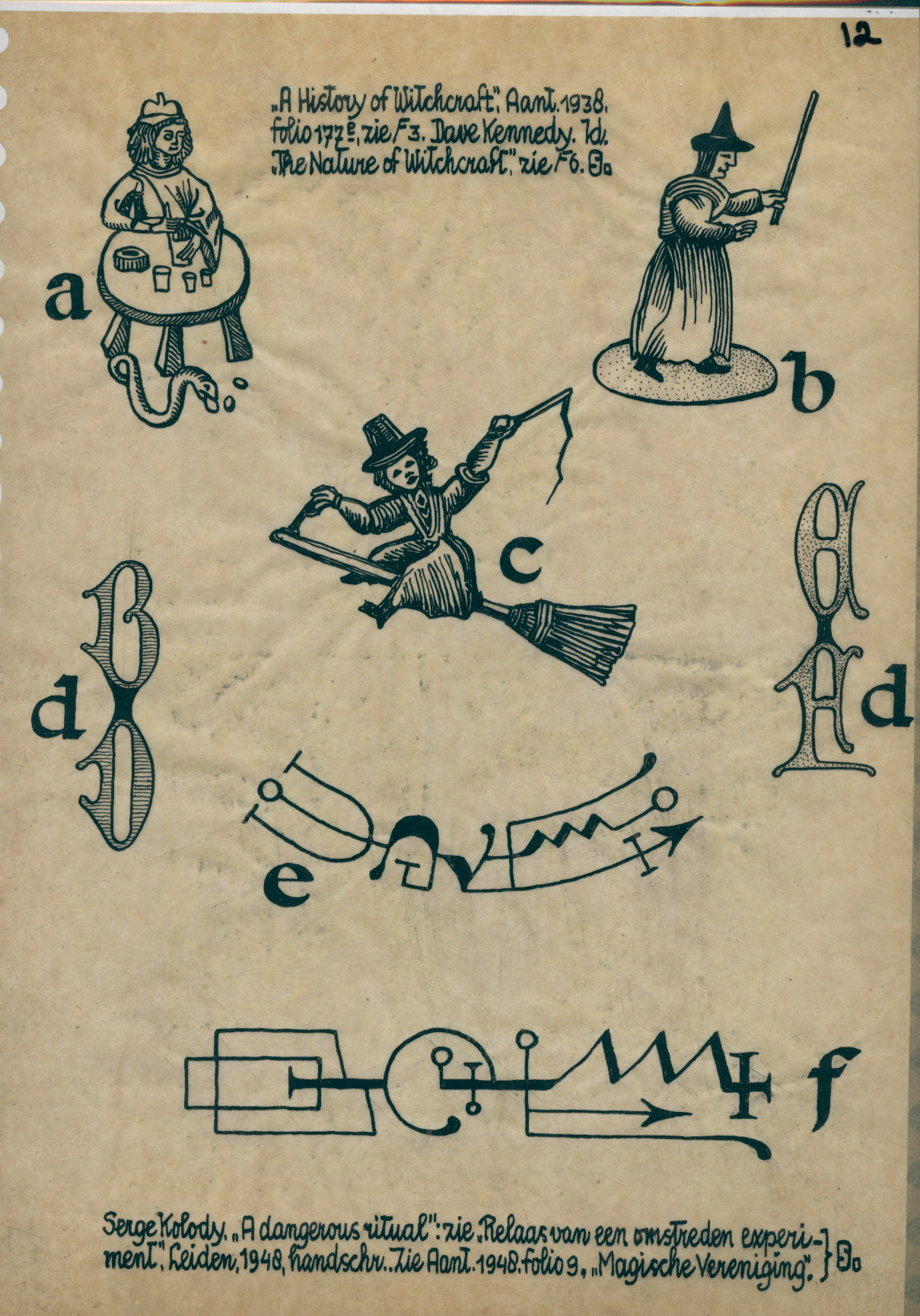 R112 drawing of witches a conjuror and symbols and notes r112 drawing of witches a conjuror and symbols and notes biocorpaavc Choice Image