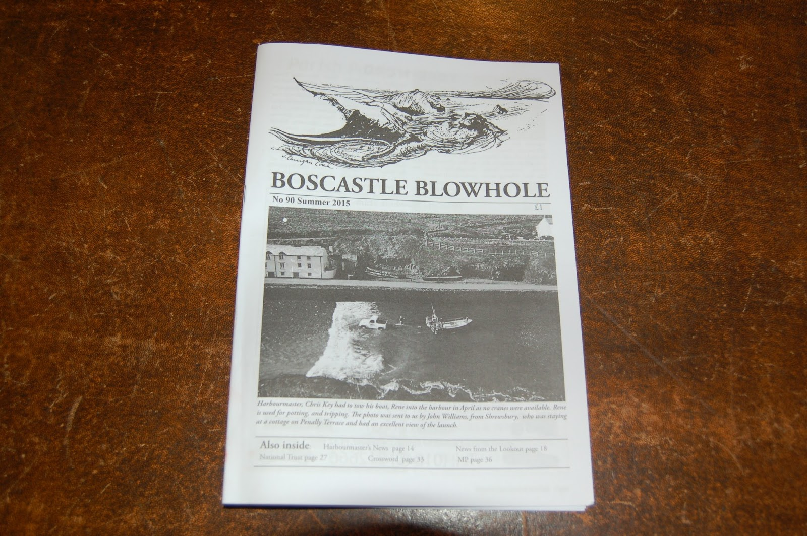 Great article on the Museum in the most recent edition of the Boscastle Blowhole