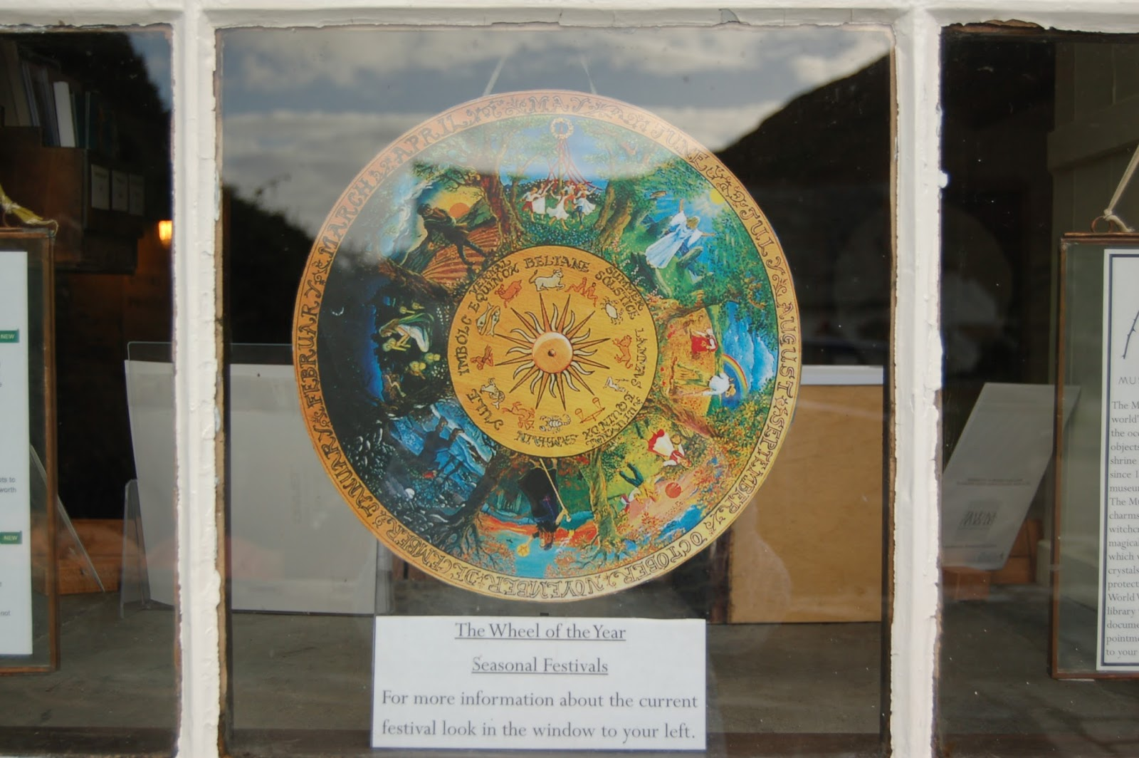 Wheel of the Year in pride of place