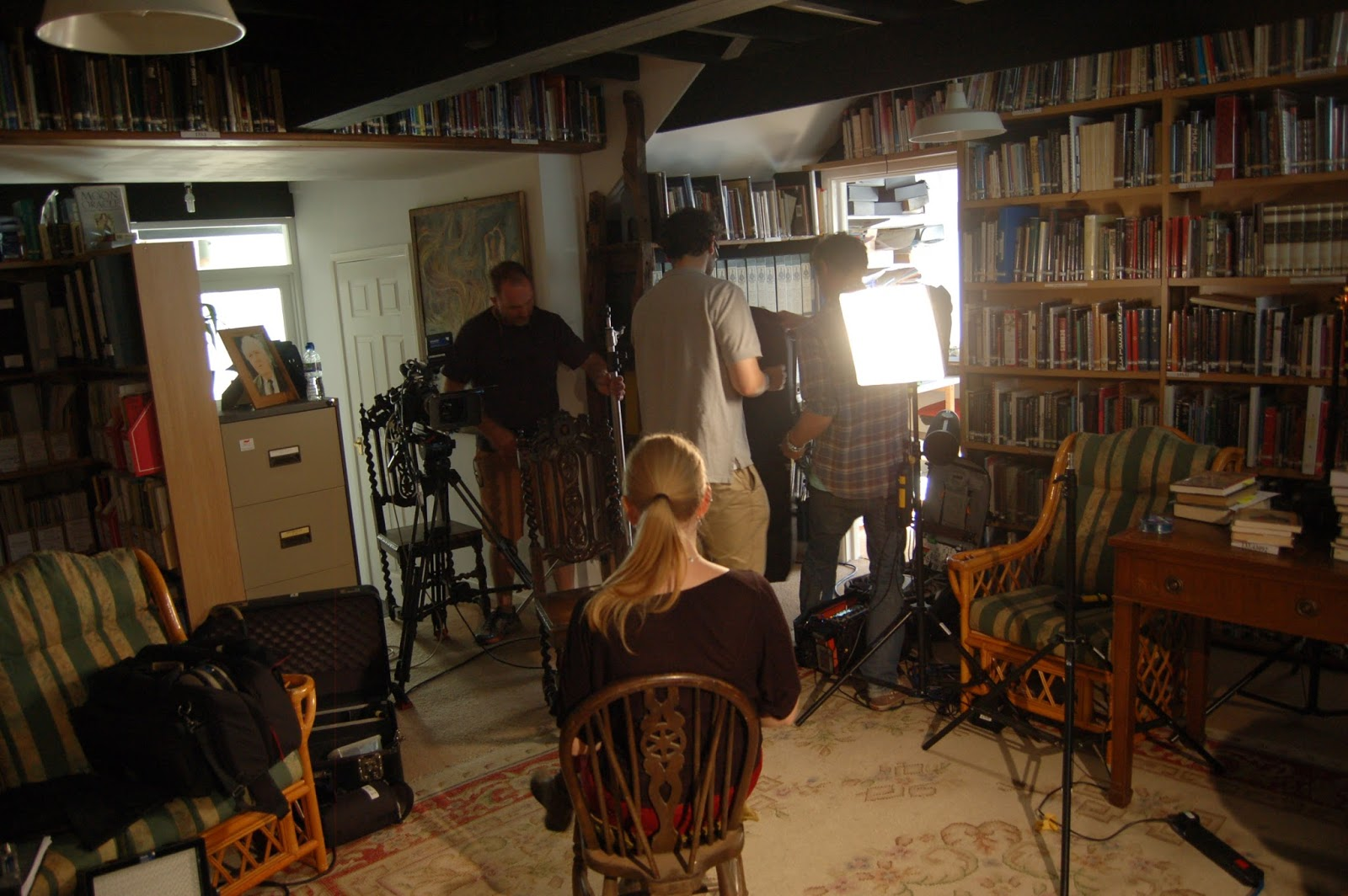 Mysteries of the Museum filming