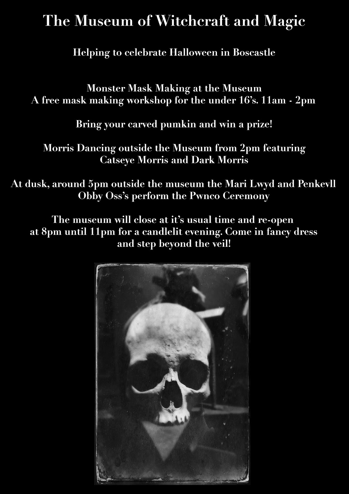 Museum Halloween event appears in lots of local media