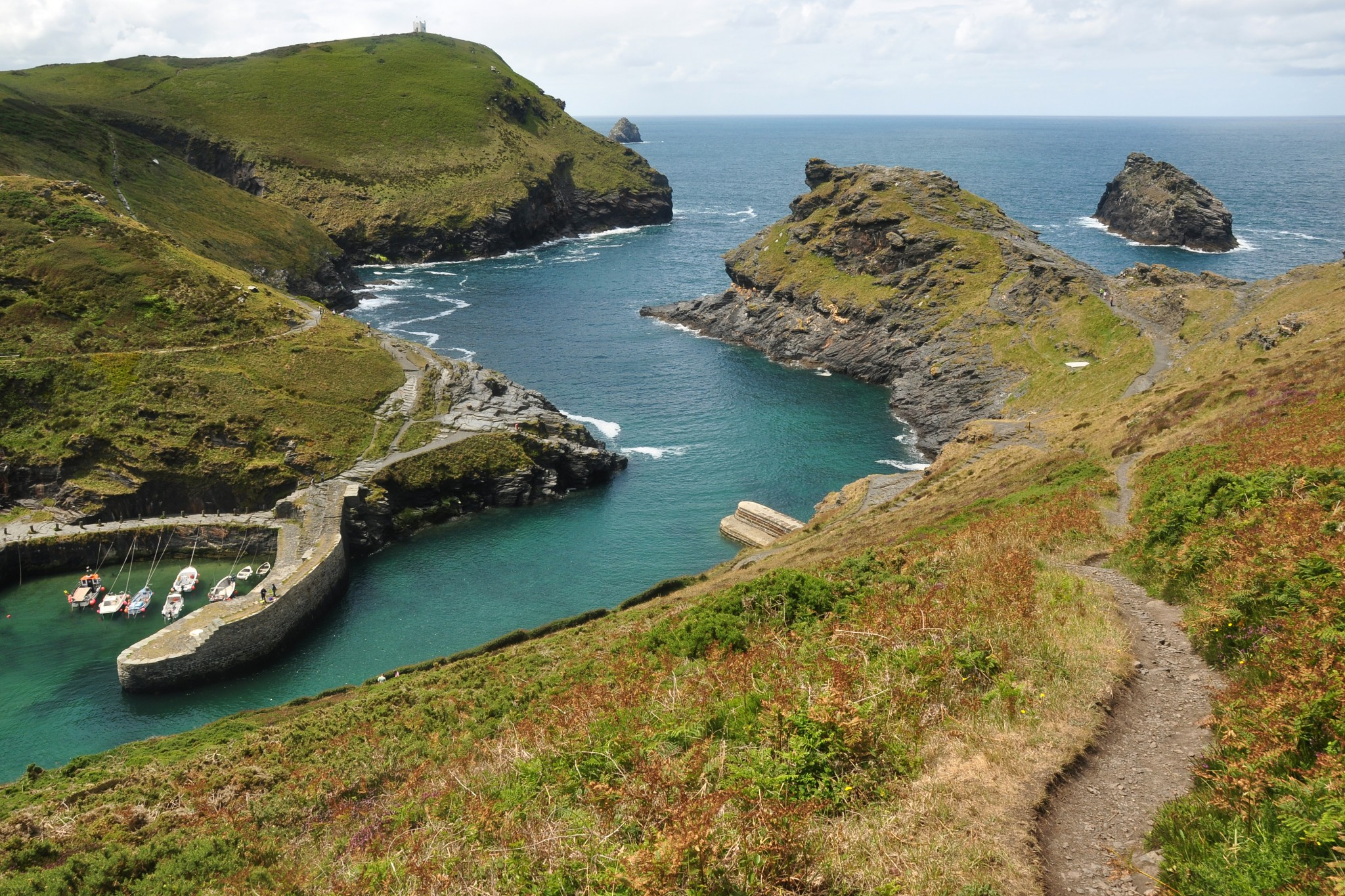 Guided walk around Boscastle Wednesday 6th July at 2pm