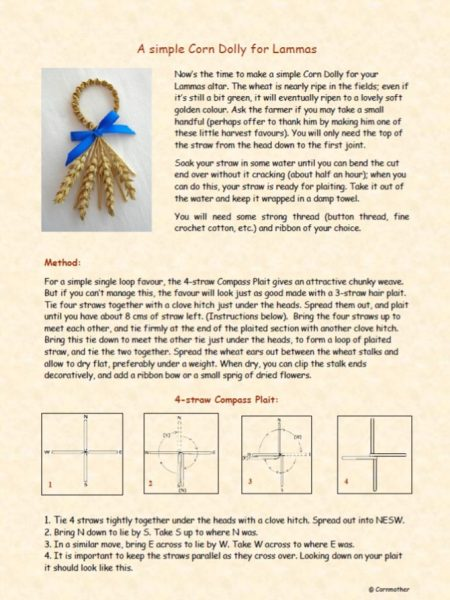 lammas instructions