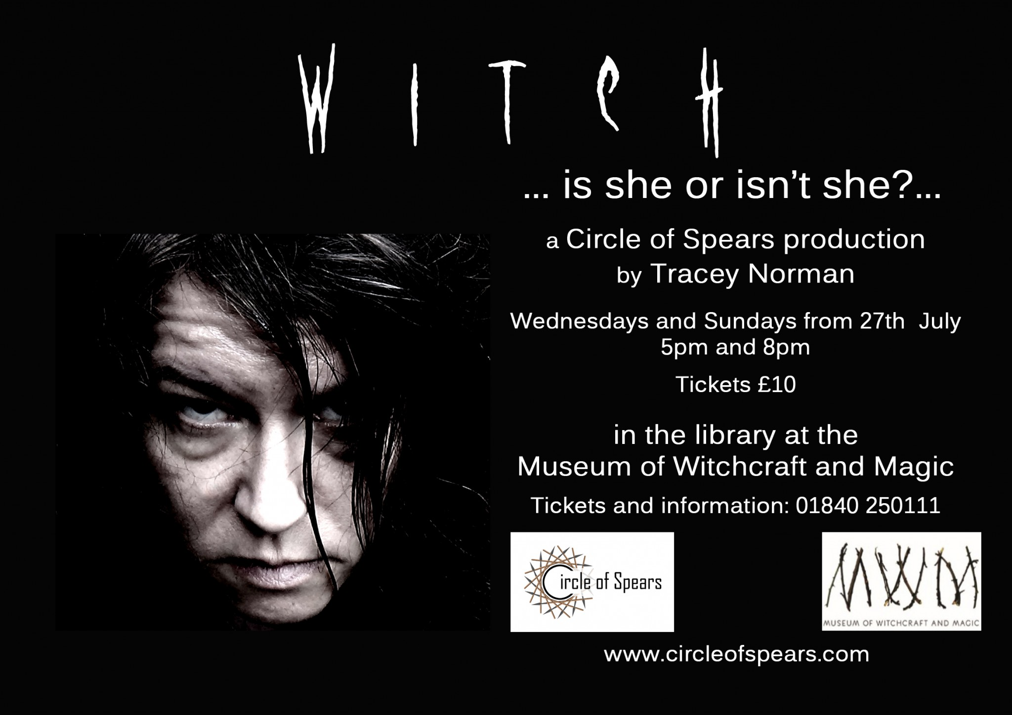 Witch play coming to the Museum soon!