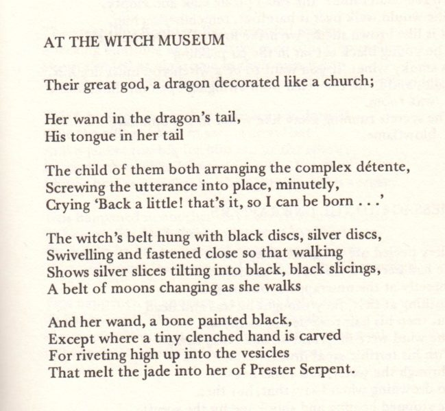 at the witch museum