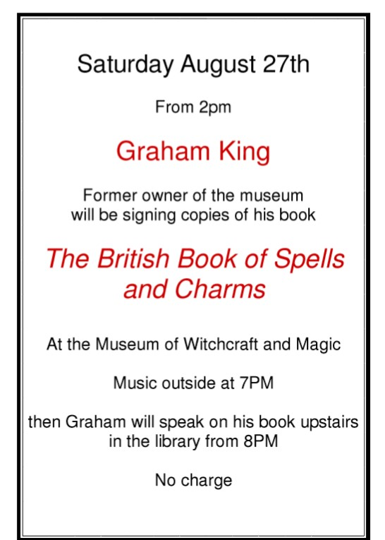 Book signing at the Museum Today from 2pm