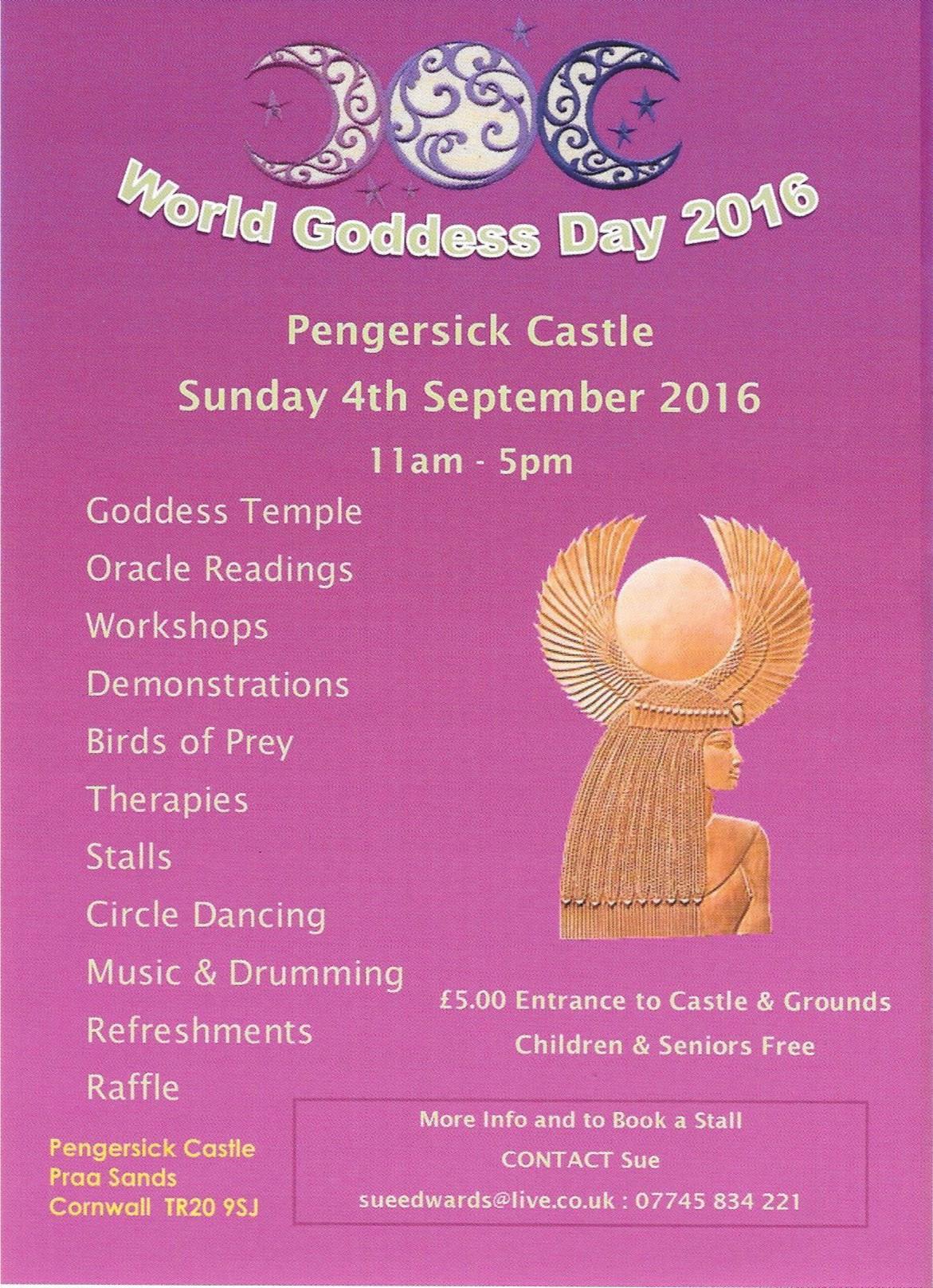 World Goddess Day in Cornwall