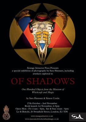 Of Shadows: One hundred objects from the Museum of Witchcraft released soon!