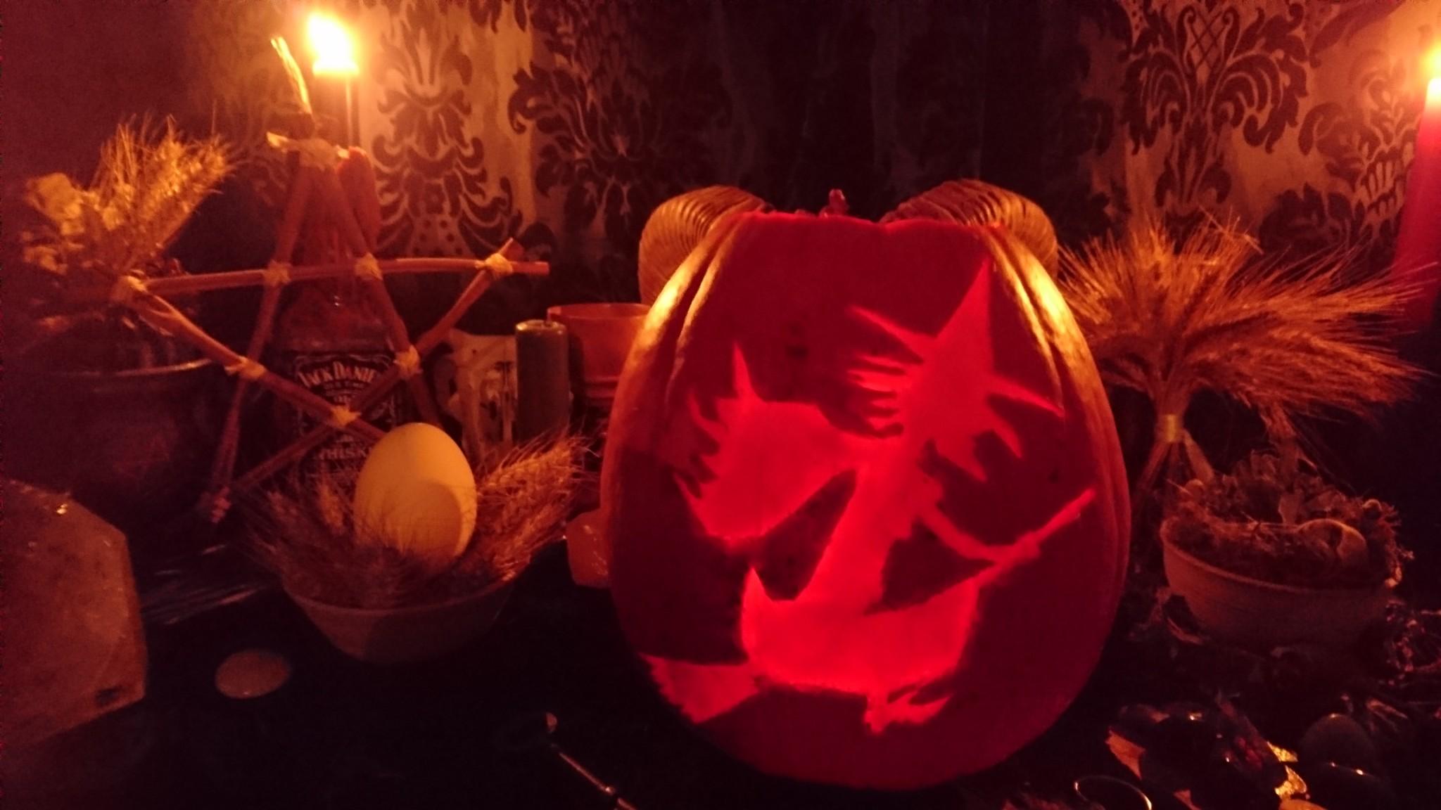 Great Samhain pumpkin photo