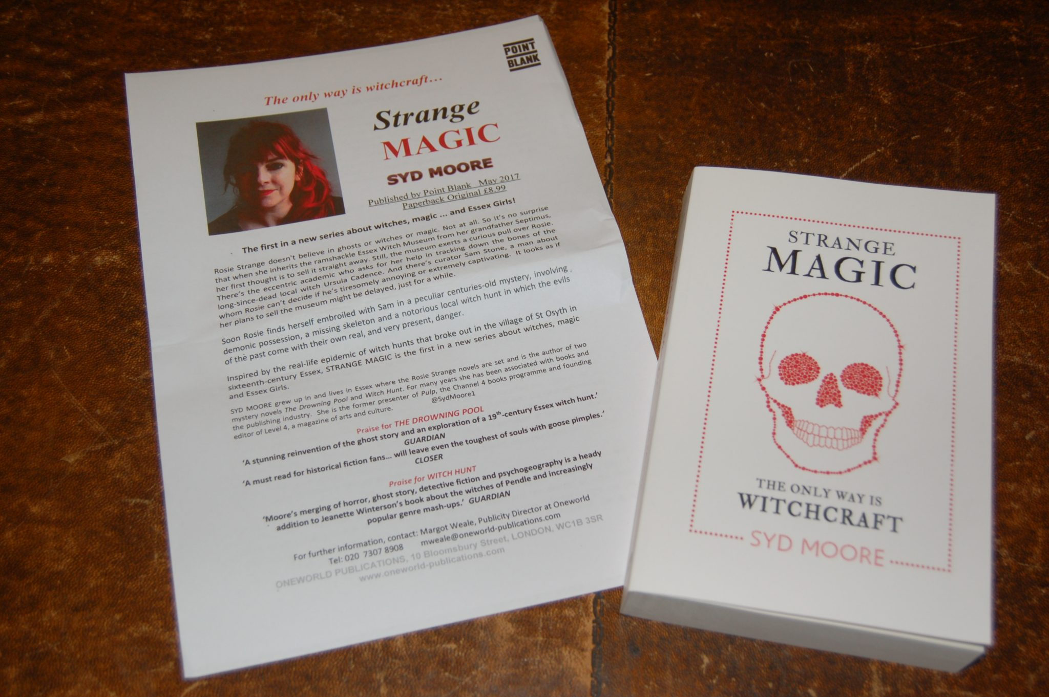 Donation of Strange Magic by Syd Moore