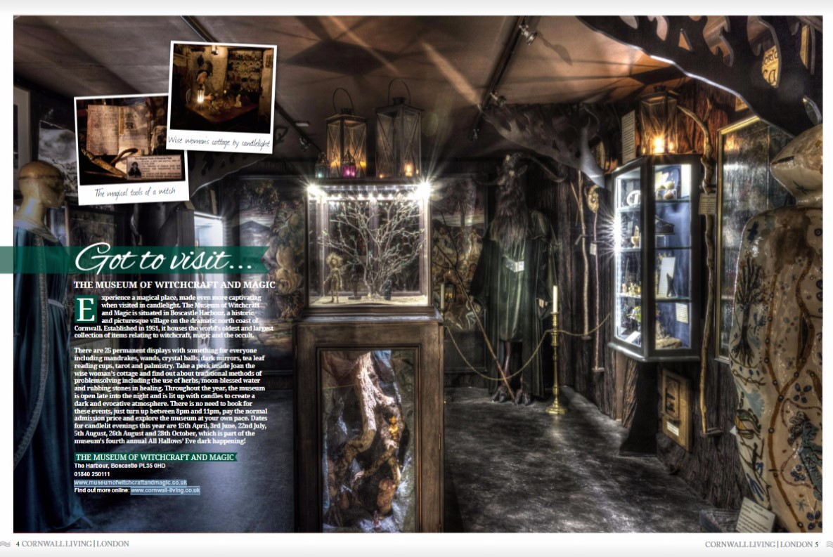 Museum features in London magazine