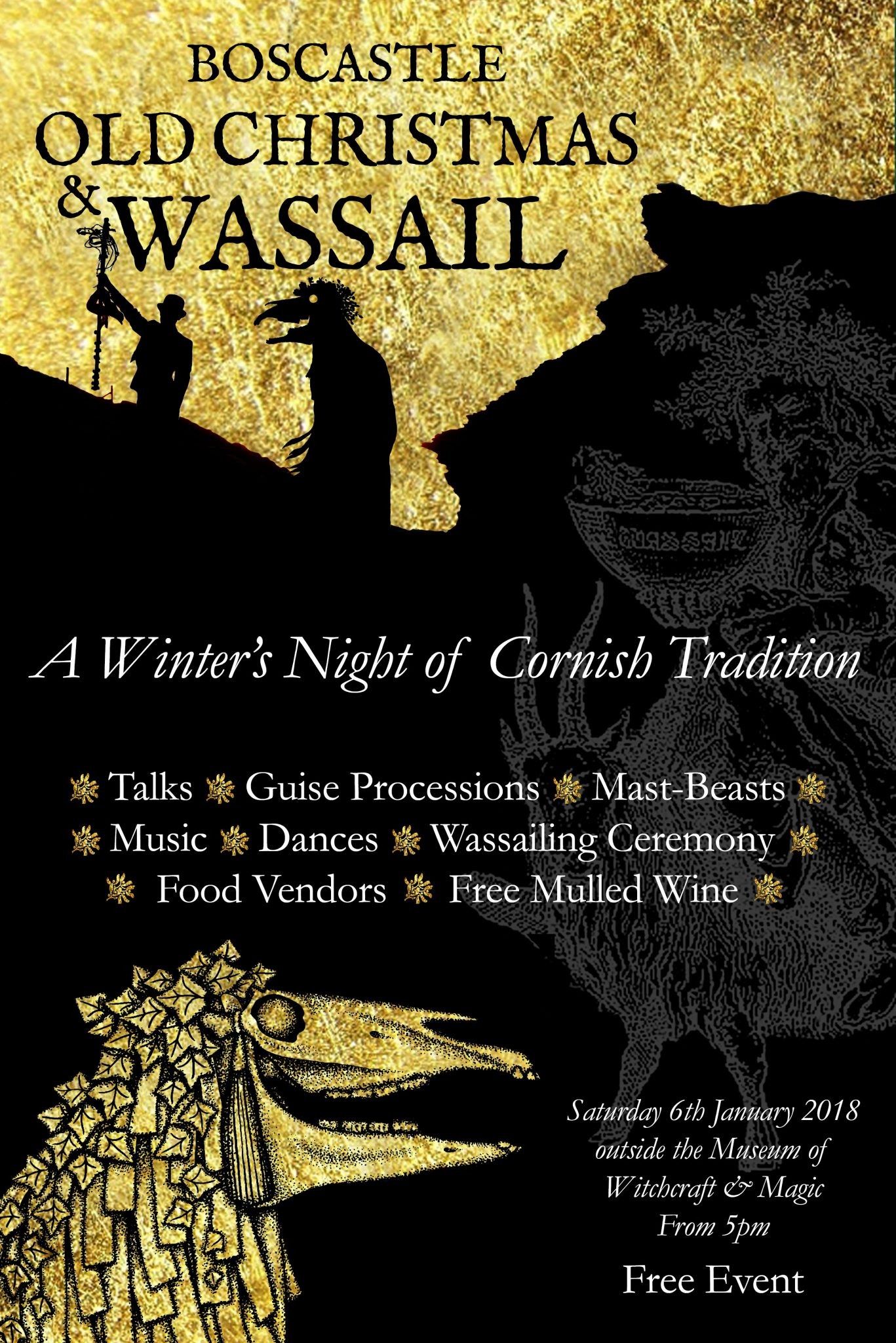 Boscastle Old Christmas and Wassail January 6th 2018 - Museum of ...