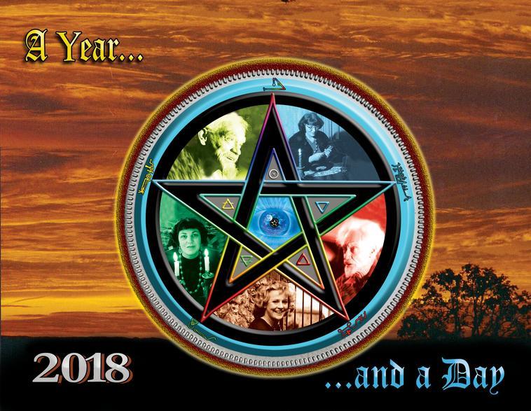 Gerald Gardner calendar donated