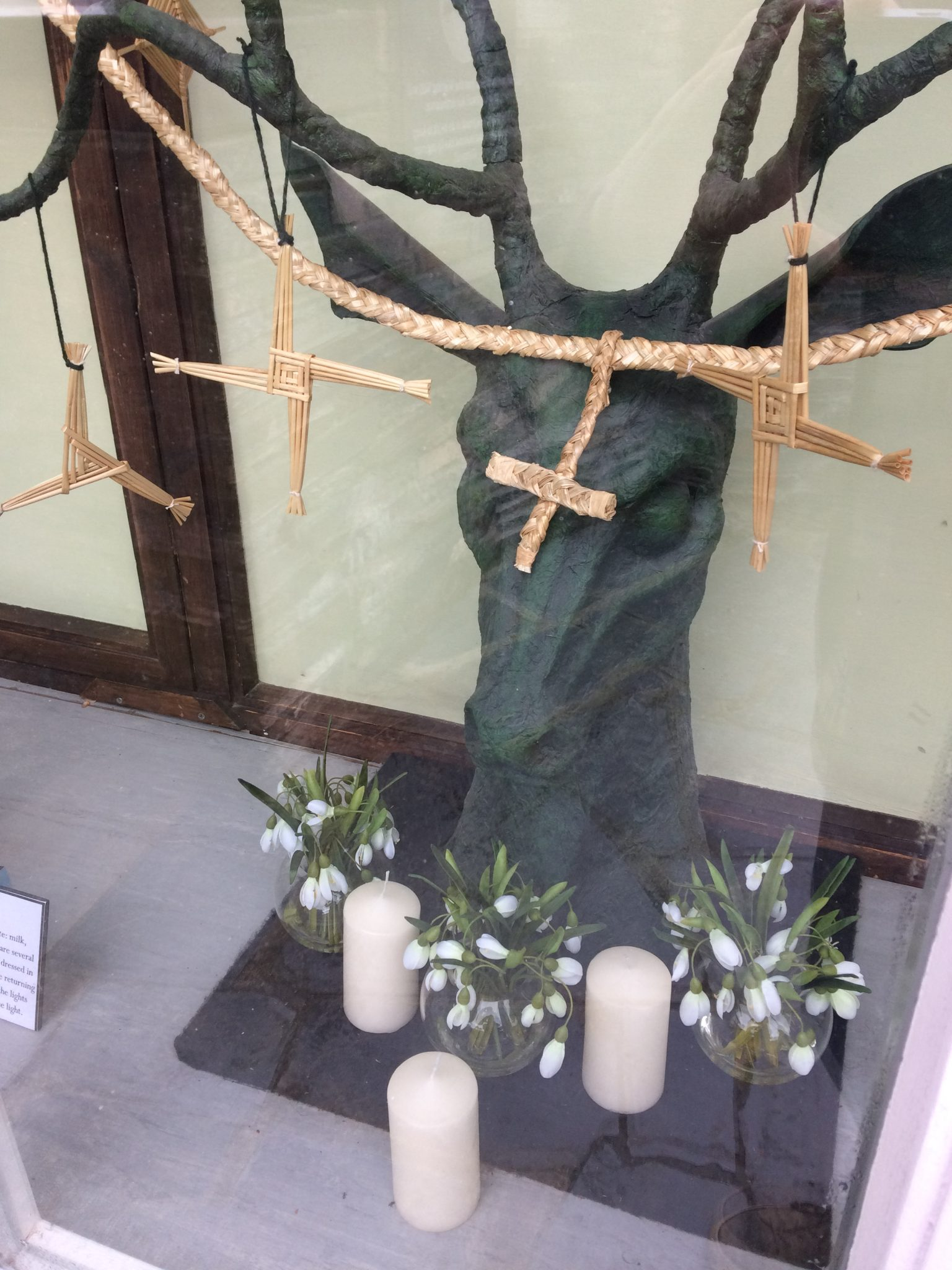 Imbolc window display