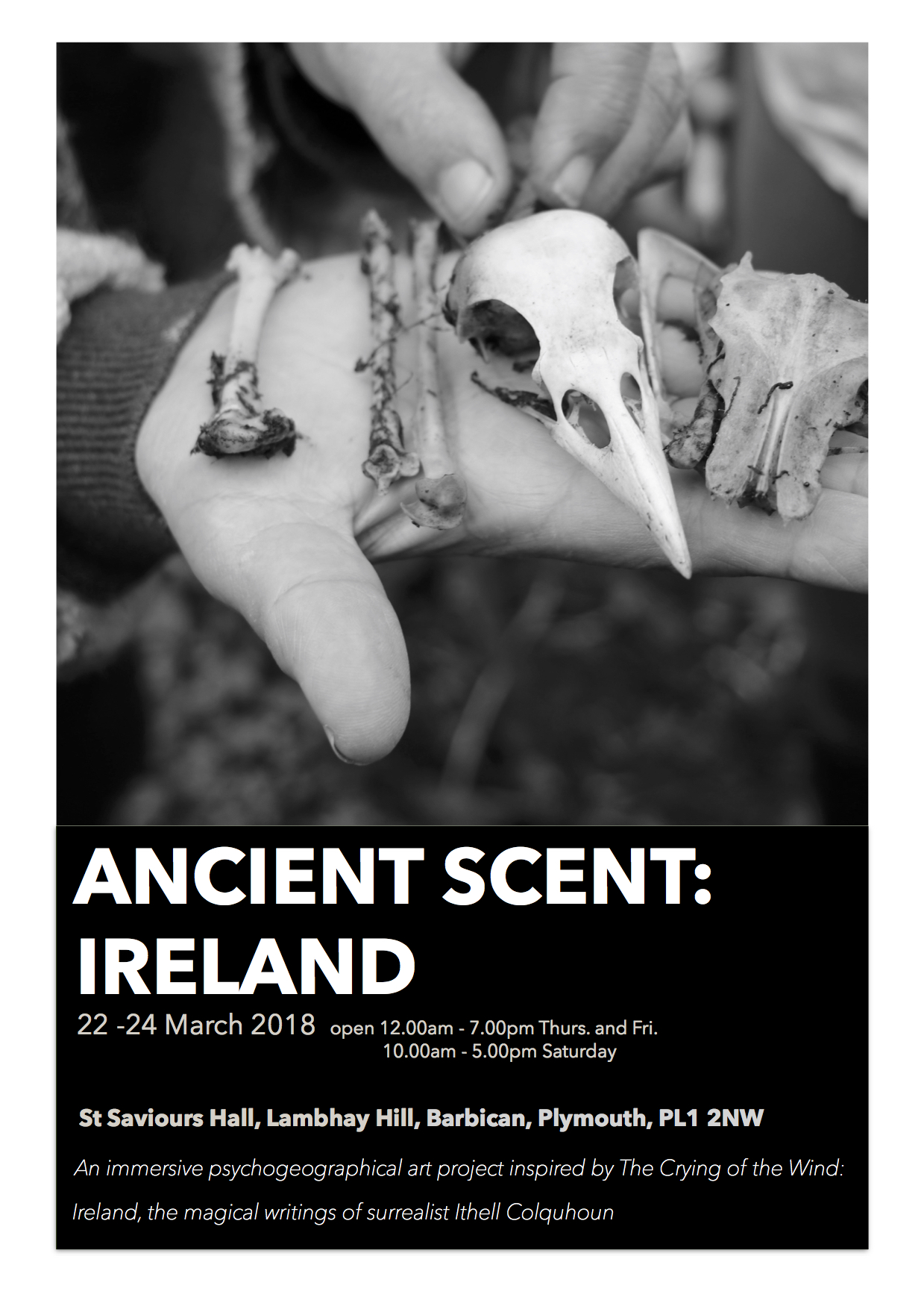 Ancient Scent: Ireland exhibition and opening