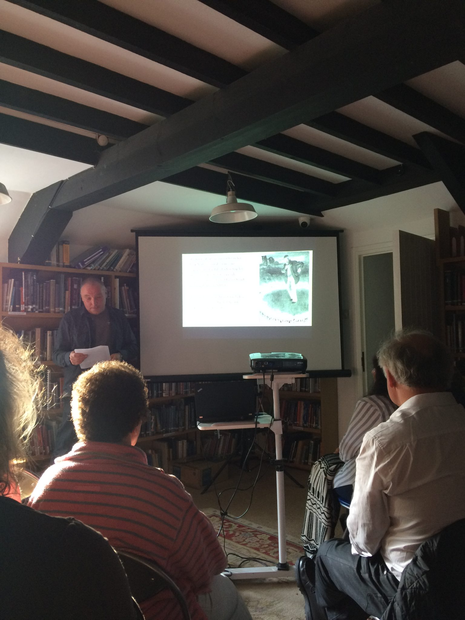 Alex Langstone's Talk about Cornish Folkore