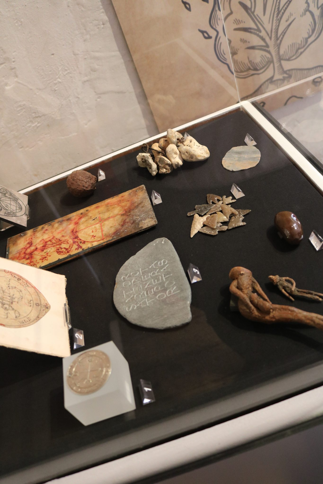 Museum objects in York exhibition