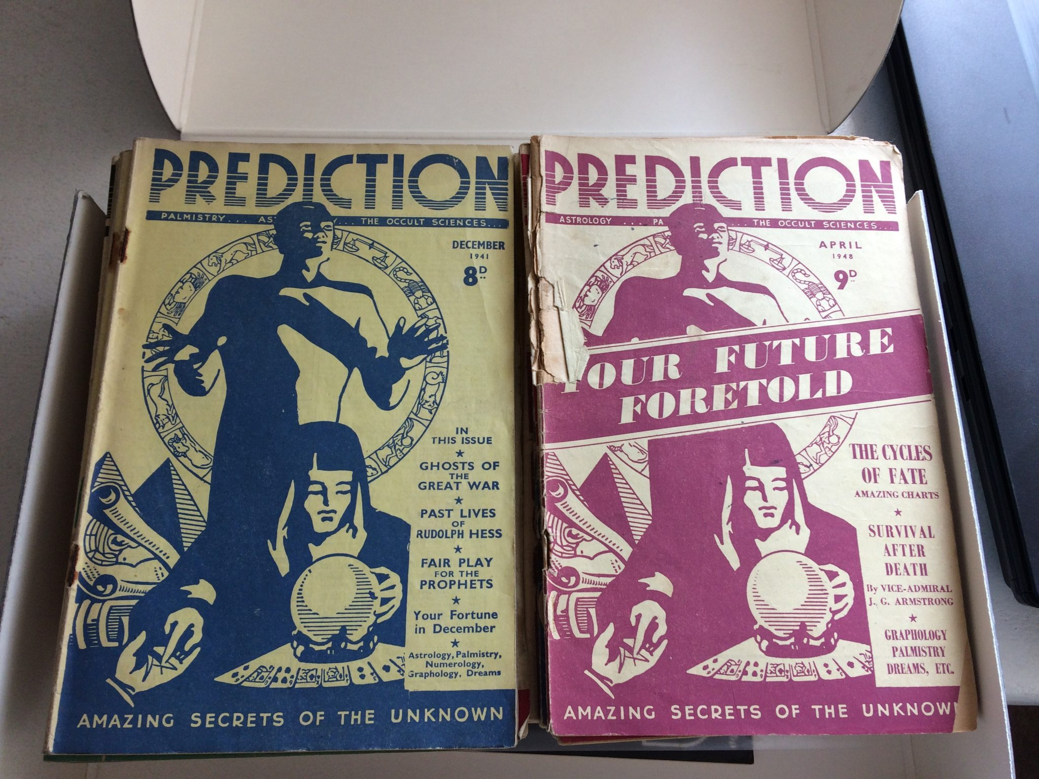 Expansion of Prediction Magazine collection